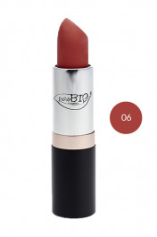 Rouge à Lèvres Bio 06 Orange brûlé - Purobio