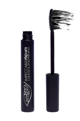 Mascara Bio & Vegan - Recourbant & Allongeant 01 Noir - Purobio