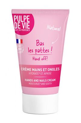 """Crème Mains Bio """"Bas les Pattes"""" - Pulpe de Vie"""
