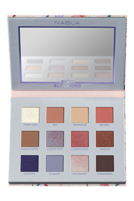 Soul Blooming Eyeshadow Palette Vegan - Nabla