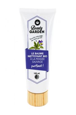 Baume Nettoyant Visage Bio à la Pensée Sauvage - Vegan - Beauty Garden