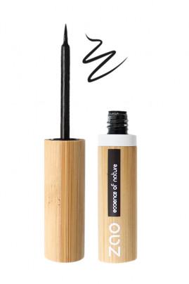 Organic & Vegan Black Felt Brush Eyeliner - Zao