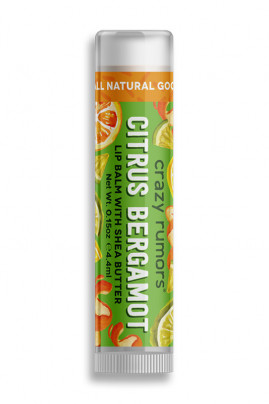 Natural Lipbalm Orange Bergamot Crazy Rumors