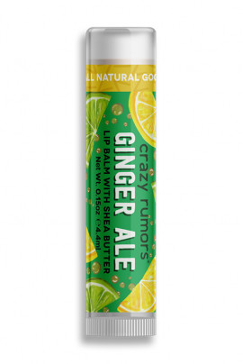Natural Lipbalm Ginger Ale Crazy Rumors