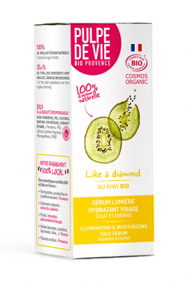 Illuminating and Moisturizing Face Serum Organic - Like a Diamond - Pulpe de Vie