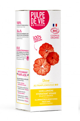 Illuminating and Moisturizing Face Care Organic - Shine - Pulpe de Vie