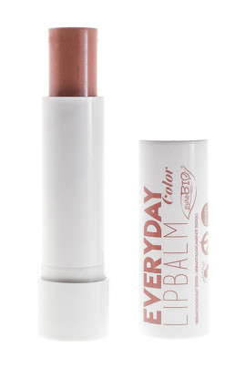 "Organic Vegan Tinted Lip Balm ""Everyday Color"" - Purobio"