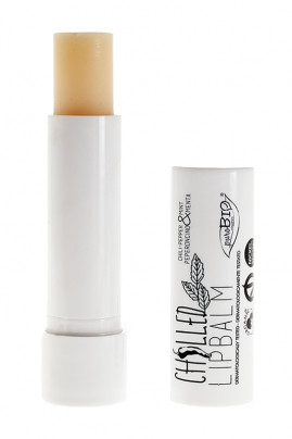"Organic & Vegan Repulping Lip Balm ""Chilled"" - Purobio"