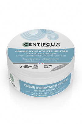 Organic Neutral Moisturizing Cream - Body & Face - Centifolia