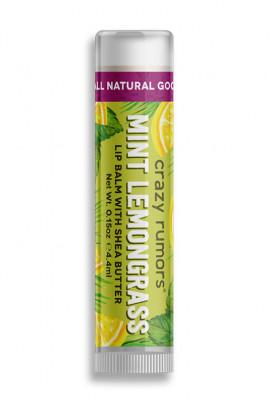 Natural Lipbalm Peppermint Lemongrass Crazy Rumors