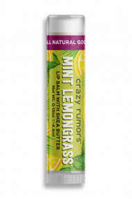 Natural Lipbalm Peppermint Lemongrass Crazy Rumors