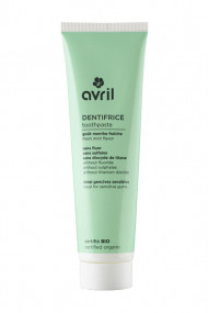 Organic Toothpaste with mint Avril