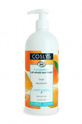 Organic & Vegan Nourishing Body Lotion with Citrus Fruits - Coslys