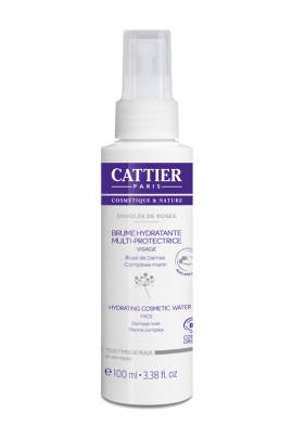 Organic Moisturizing & Multi-protective Mist - Envolée de roses - Cattier