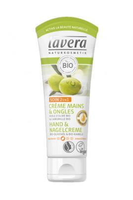 Vegan 2 in 1 Hand & Nail Cream - Lavera