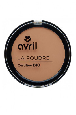 Organic Compact Powder Avril - Porcelaine