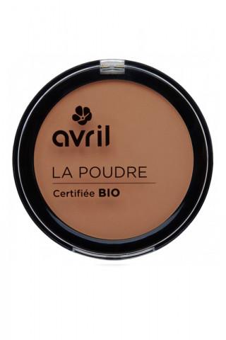 Poudre Compacte Bio Avril - Cuivré