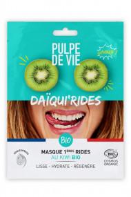 Masque Tissu Visage Bio 1ères Rides - Daïqui'Rides - Pulpe de Vie