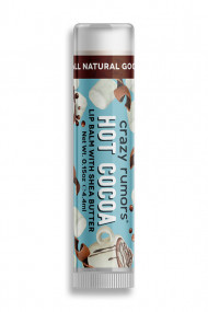 Natural Vegan Lipbalm - Hot Cocoa - Crazy Rumors