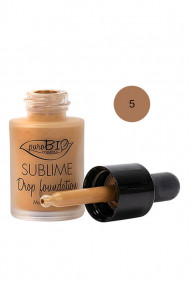 "Organic & Vegan ""Sublime Drop"" Foundation - Purobio"