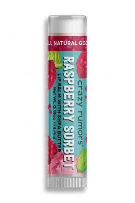 Natural Lipbalm Raspberry Sherbet Crazy Rumors