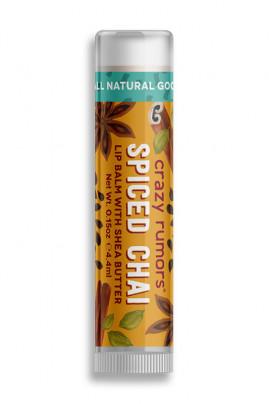 Natural Lipbalm Spiced Chai Crazy Rumors