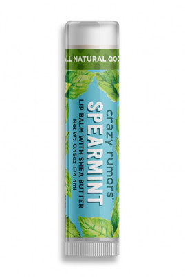 Natural Lipbalm Peppermint Twist Crazy Rumors