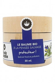 Organic Protection Balm with Wild Thought - Beauty Garden