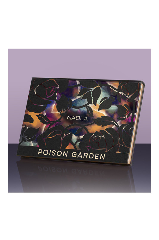 Poison Garden Eyeshadow Palette Vegan Nabla Ayanature