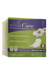 Organic Cotton ultra-fine Night Towels - SilverCare