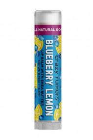 Natural Vegan Lipbalm - Blueberry Lemon - Crazy Rumors