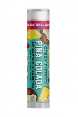 Natural Vegan Lipbalm - Piña Colada - Crazy Rumors