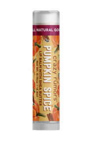 Natural Vegan Lipbalm - Pumpkin Spice - Crazy Rumors
