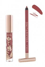 Dreamy Lip Kit - Rouge à Lèvres Liquide & Crayon Lèvres Vegan - Nabla