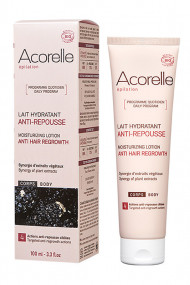 Organic Hair Growth Inhibitor - Moisturizing Lotion BODY - Acorelle