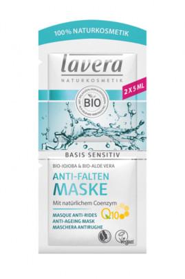 Masque Tissu Anti-Rides Q10 Vegan - Basis Sensitiv - Lavera