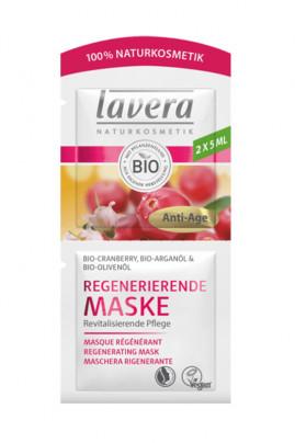 Masque Tissu Régénérant Vegan - Lavera