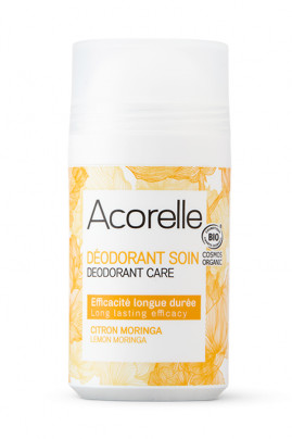 Organic Moringa Lemon Roll On Deodorant - Acorelle