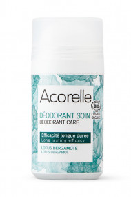 Organic Bergamot Lotus Roll On Deodorant - Acorelle