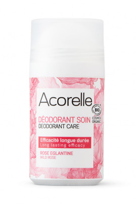 Déodorant Roll On Bio Rose Eglantine - Acorelle