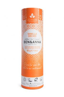 Natural Deodorant Stick Papertube - Vanilla Orchid - Ben & Anna