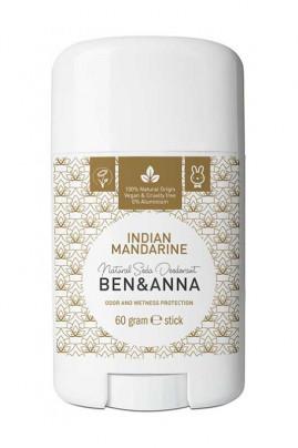 Natural Deodorant Stick - Indian Mandarin - Ben & Anna