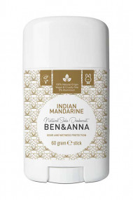 Natural Deodorant Stick - Indian Mandarin - Ben & Anna