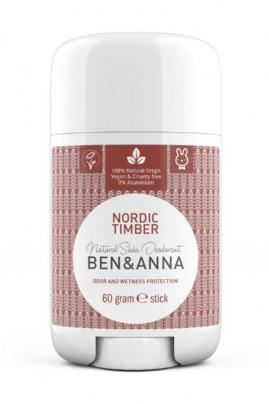 Déodorant Naturel Stick - Nordic Timber - Ben & Anna