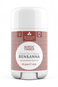 Natural Deodorant Stick - Nordic Timber - Ben & Anna