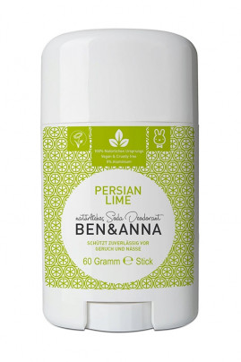 Natural Deodorant Stick - Persian Lime - Ben & Anna