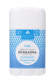 Natural Deodorant Stick - Pure - Ben & Anna