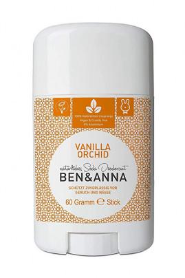 Natural Deodorant Stick - Vanilla Orchid - Ben & Anna
