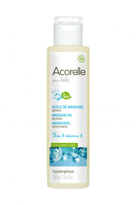 Organic Baby Massage Oil - Acorelle
