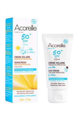 Organic Baby Sun Cream SPF 50+ - Acorelle